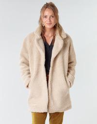 material Women coats Only ONLAURELIA Beige