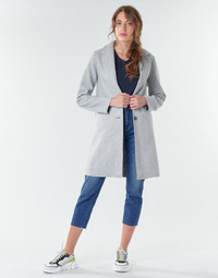 material Women coats Only ONLCARRIE BONDED Grey
