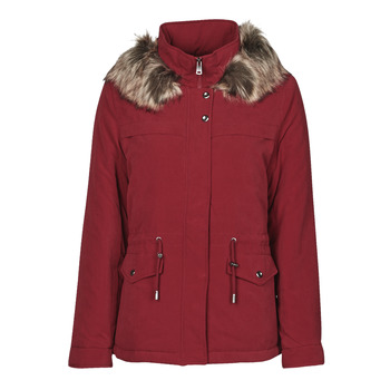 material Women Parkas Only ONLSTARLINE Bordeaux