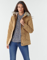 material Women Parkas Only ONLNEW LUCCA Camel