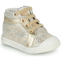Shoes Girl High top trainers GBB NAVETTE Gold