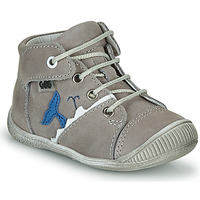 Shoes Boy High top trainers GBB ABRICO Grey