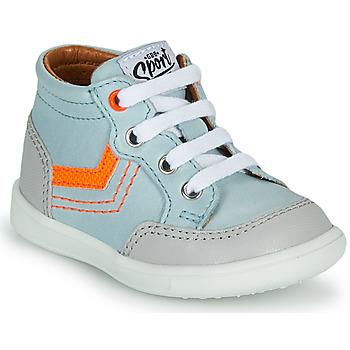 Shoes Boy High top trainers GBB VIGO Blue