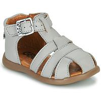 Shoes Boy Sandals GBB FARIGOU Vte / Grey / Dpf / Cric