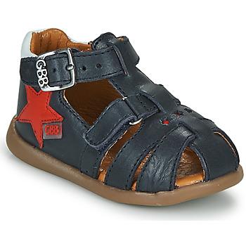 Shoes Boy Sandals GBB GARDOU Marine