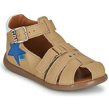 Shoes Boy Sandals GBB GARDOU Beige