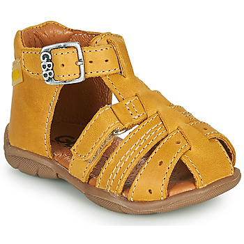 Shoes Boy Sandals GBB ARIGO Yellow