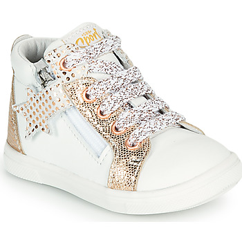 Shoes Girl High top trainers GBB VALA White