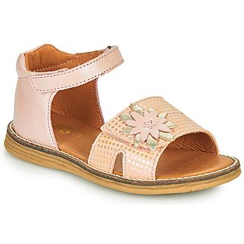 Shoes Girl Sandals GBB SATIA Vtc / Pink / Dpf / Vipera