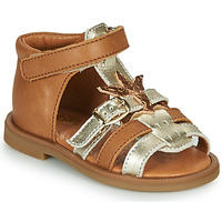 Shoes Girl Sandals GBB CARETTE Brown
