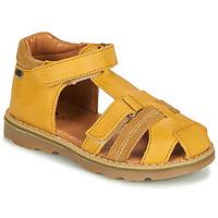 Shoes Boy Sandals GBB MITRI Yellow