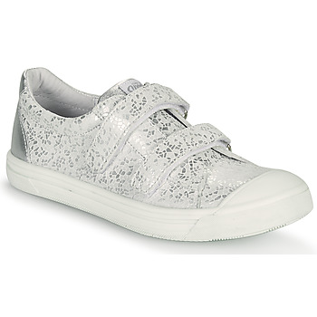 Shoes Girl Low top trainers GBB NOELLA White / Silver