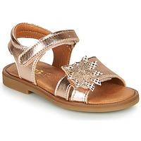 Shoes Girl Sandals GBB UPPLA Pink / Gold