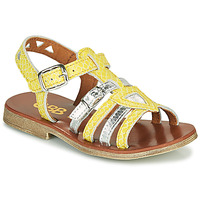 Shoes Girl Sandals GBB FANNI Yellow