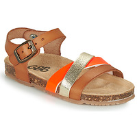 Shoes Girl Sandals GBB LULUNE Brown