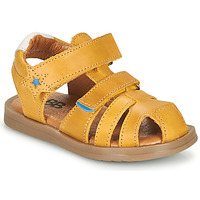 Shoes Boy Sandals GBB MARINO Yellow