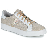 Shoes Girl Low top trainers GBB DANINA Beige / Gold