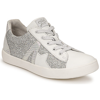 Shoes Girl Low top trainers GBB DANNI White / Silver