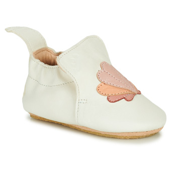 Shoes Girl Slippers Easy Peasy BLUBLU COQUILLE White