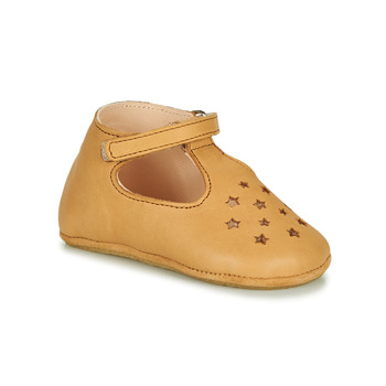 Shoes Children Slippers Easy Peasy LILLOP Cognac