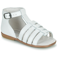Shoes Girl Sandals Little Mary HOSMOSE White