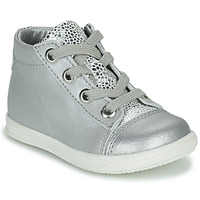Shoes Girl High top trainers Little Mary VITAMINE Silver