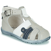 Shoes Boy Sandals Little Mary VERCORS Grey