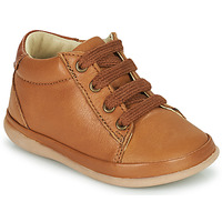 Shoes Girl High top trainers Little Mary GAMBARDE Brown