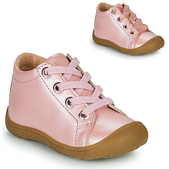 Shoes Girl High top trainers Little Mary GOOD Pink