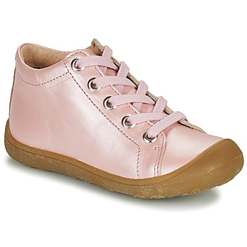 Shoes Children High top trainers Little Mary GOOD Pink