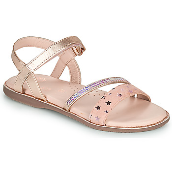Shoes Girl Sandals Little Mary DOLERON Pink