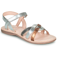 Shoes Girl Sandals Little Mary LIGHT Silver