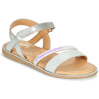 Shoes Girl Sandals Little Mary DOLERON Silver