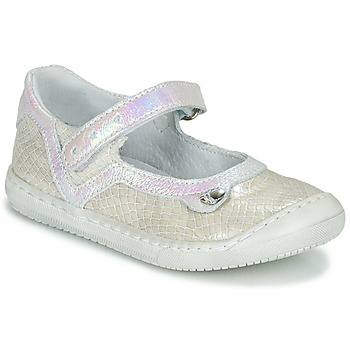 Shoes Girl Ballerinas Little Mary BRILLANTE Ecru