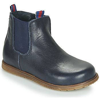 Shoes Boy Mid boots Little Mary JAUFFREY Marine