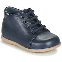 Shoes Children Mid boots Little Mary LOUSTIC Marine