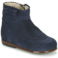 Shoes Girl Mid boots Little Mary OLISETTE Marine
