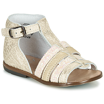 Shoes Girl Sandals Little Mary HOSMOSE Gold