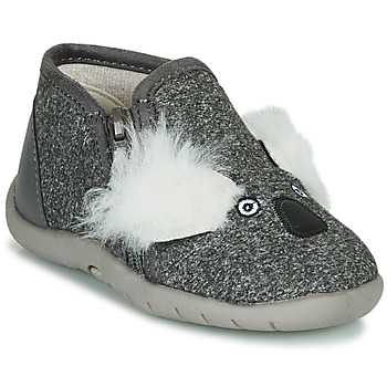Shoes Children Slippers Little Mary KOALAZIP Grey