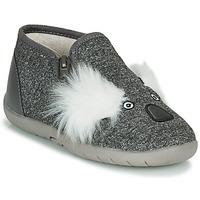 Shoes Children Slippers Little Mary KOALAZIP Grey