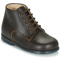 Shoes Children Mid boots Little Mary MILOT Brown