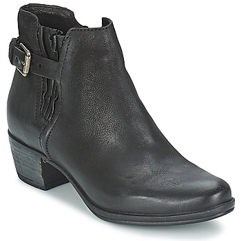 Shoes Women Mid boots Dream in Green GALINA Black