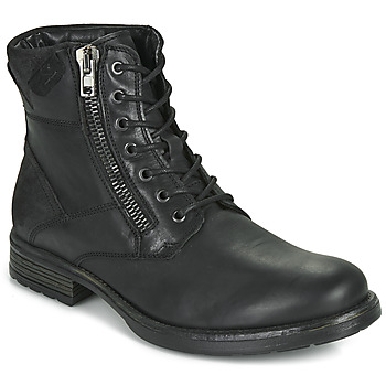 Shoes Men Mid boots Casual Attitude NEPHEME Black
