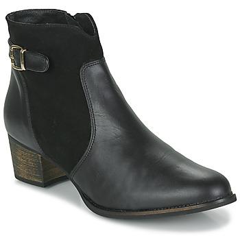 Shoes Women Ankle boots So Size SERELLE Black
