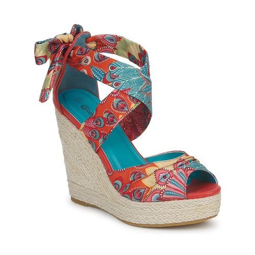 Shoes Women Sandals Moony Mood FIRNIL Multicolour