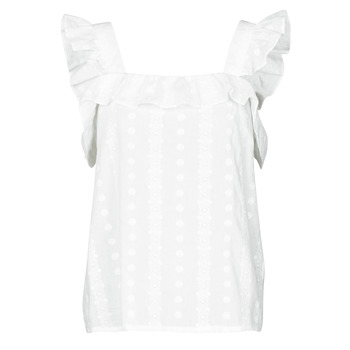 material Women Blouses Betty London OOPSA White