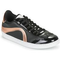 Shoes Women Low top trainers André CALLISTA Black