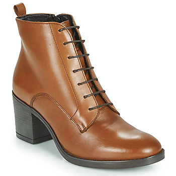 Shoes Women Ankle boots André EDONY Camel