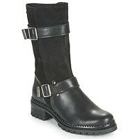 Shoes Women Mid boots André PHENOMENE Black