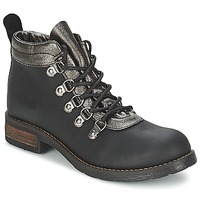 Shoes Women Mid boots Casual Attitude MIZATTE Black